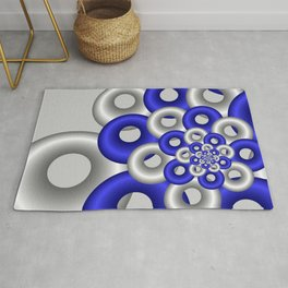 fractals are beautiful -12- Rug