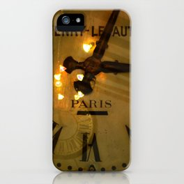 L'or du temps. iPhone Case