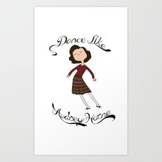 Dance Like Audrey Horne Art Print