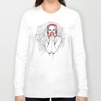 queen Long Sleeve T-shirts featuring Queen by Mr. Gabriel Marques