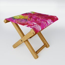 Inviting iris Folding Stool