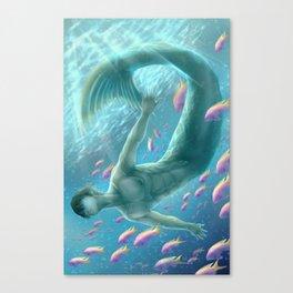 Merman Haruka Canvas Print