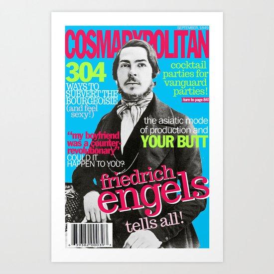 COSMARXPOLITAN, Issue 2 Art Print