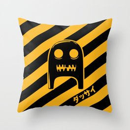 The Strange & Scary Adventures of Smee Throw Pillow