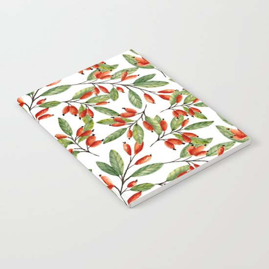 Red berries Notebook