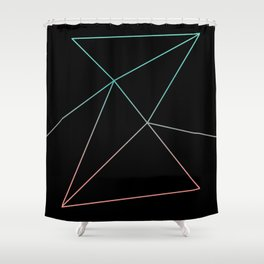 Paper Airplanes Shower Curtain