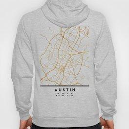 AUSTIN TEXAS CITY STREET MAP ART Hoody