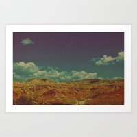 we are dreaming are we Art Print