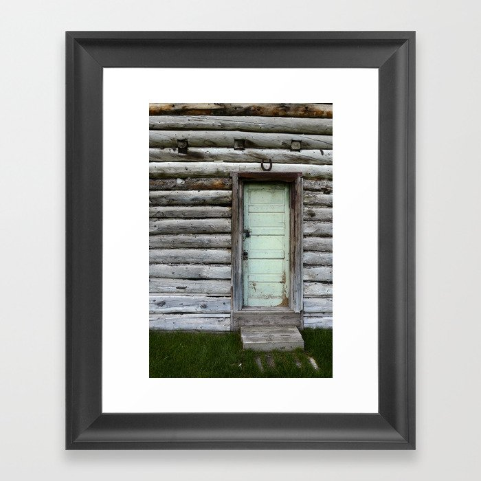 Architectural Contradiction Framed Art Print