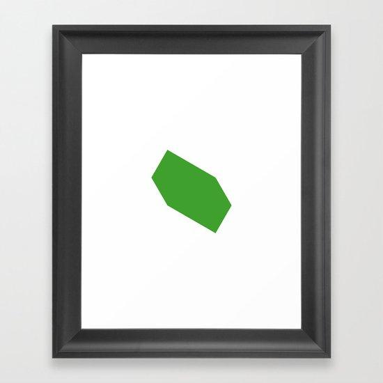 #446 Movement – Geometry Daily Framed Art Print