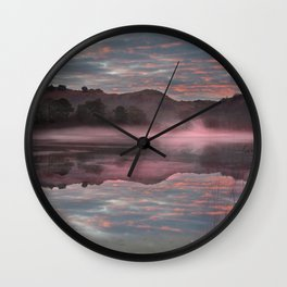 Rydal reflections Wall Clock