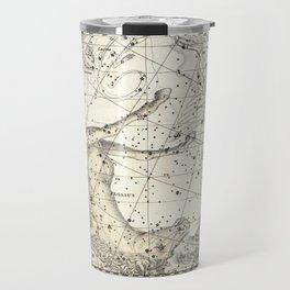 Pegasus Constellation Celestial Atlas Plate 12, Alexander Jamieson Travel Mug