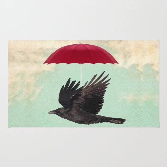 Raven Cover Rug