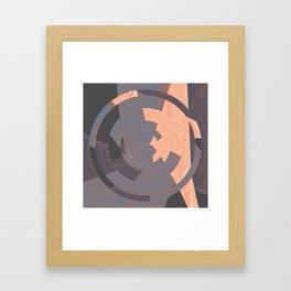 long tan and handsome Framed Art Print