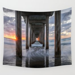 EVENTIDE - LA JOLLA CALIFORNIA PACIFIC OCEAN SUNSET - LANDSCAPE NATURE PHOTOGRAPHY Wall Tapestry