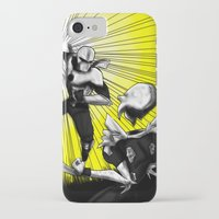 fight iPhone & iPod Cases featuring Fight by TrueLoveStory