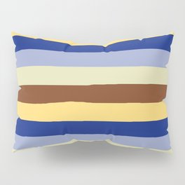 lumpy or bumpy lines abstract and summer colorful - QAB277 Pillow Sham
