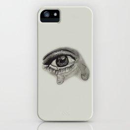 Cryin Eyes iPhone Case