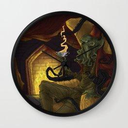 Creature Comforts: Cthulu Wall Clock