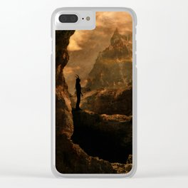 Infernal Clear iPhone Case