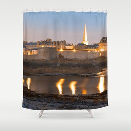 Saint Malo Twilight Shower Curtain