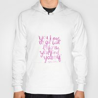paper towns Hoodies featuring Paper Towns Quote by mekaylanicole