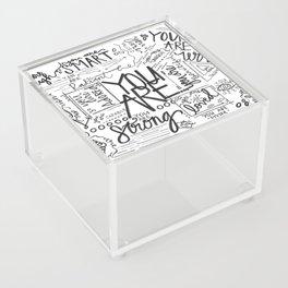 You Are * Acrylic Box