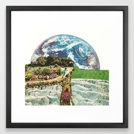 EDEN IN TRANSITION (2) Framed Art Print