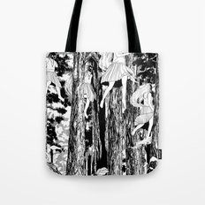 'The trees stir with noises of women who have lost themselves' Tote Bag