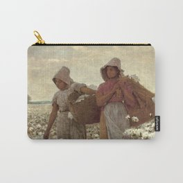 The Cotton Pickers by Winslow Homer, 1876 Carry-All Pouch