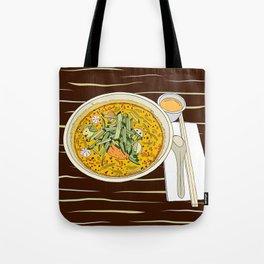 Singapore Laksa Noodle Tote Bag