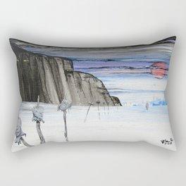 Impaled Rectangular Pillow