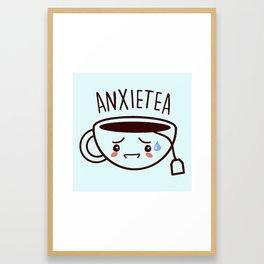 ANXIETEA Framed Art Print