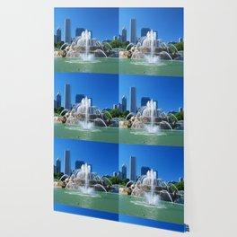 Buckingham fountain Wallpaper