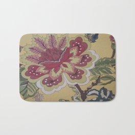 Jacobean Flower - Wild Veda Bath Mat