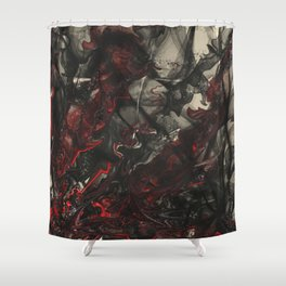 The Dance of Detached Humanism  Shower Curtain