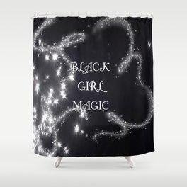 Black Girl Magic Shower Curtain