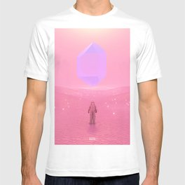 Lost Astronaut Series #03 - Floating Crystal T-shirt