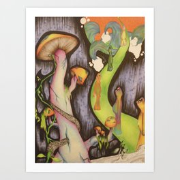 lala land Art Print