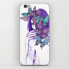 Amongst Butterflies iPhone & iPod Skin