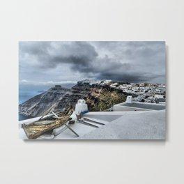 Santorini 16 Metal Print