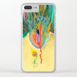 Flowerasm XIII - Nakshatra Naxatras with human Clear iPhone Case