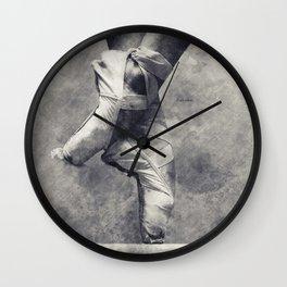 Dancing shoes Wall Clock