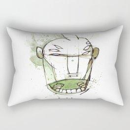 Coffee Face 01 Rectangular Pillow