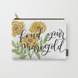 Find Your Marigold Carry-All Pouch