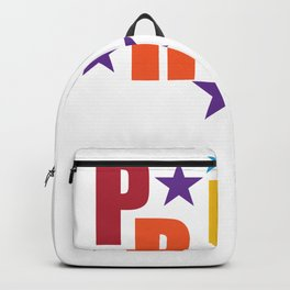 Pride Stars Rainbow Pride LGBT Backpack
