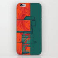 titan iPhone & iPod Skins featuring Titan - Cronos by Fernando Vieira