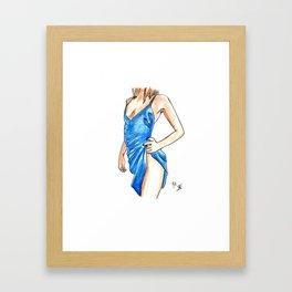 Femme 15 Framed Art Print