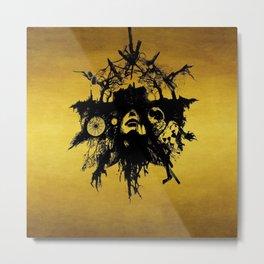 Dream catcher evil Metal Print