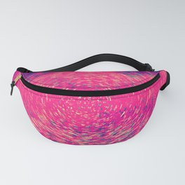 Colorful Concentric Circles Fanny Pack